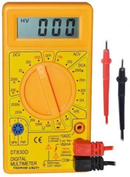 FADMAN Multimeter AC DC Voltage current (DT-830D) Digital Multimeter