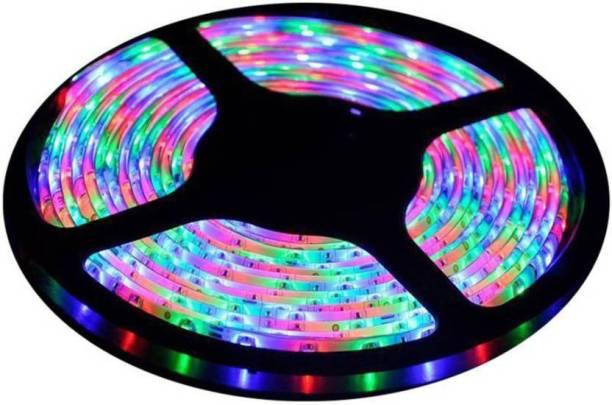 ACCESSOREEZ 5 Meters Waterproof Cuttable LED Lights Strip Roll (MULTI) Car Fancy Lights