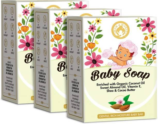 Mom & World Extra Soft Natural Baby Soap