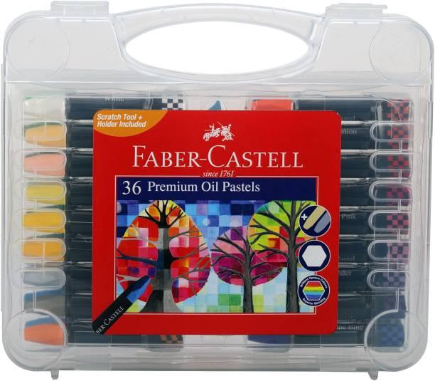 FABER-CASTELL 36 Premium Oil Pastels