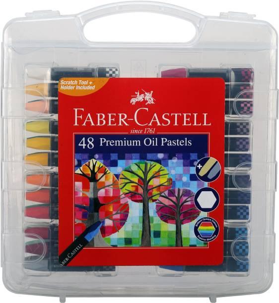 FABER-CASTELL 48 Premium Oil Pastels