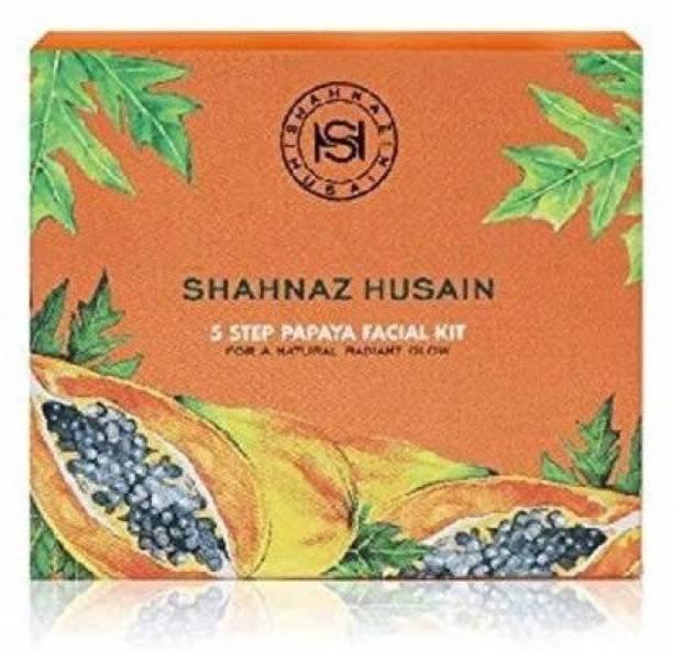 Shahnaz Husain 5 Step Papaya Facial Kit (Pack Of 1)