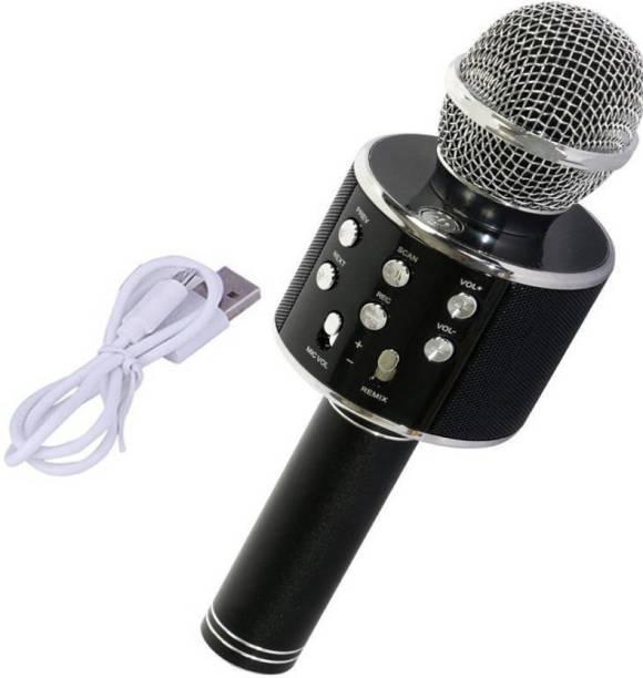 PIQANCY ROCK SOUND Wireless Handheld Bluetooth Mic Microphone