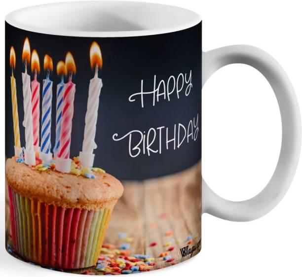 Wagwan Happy Birthday pastry cake Ceramic Coffee mug Ceramic Coffee Mug