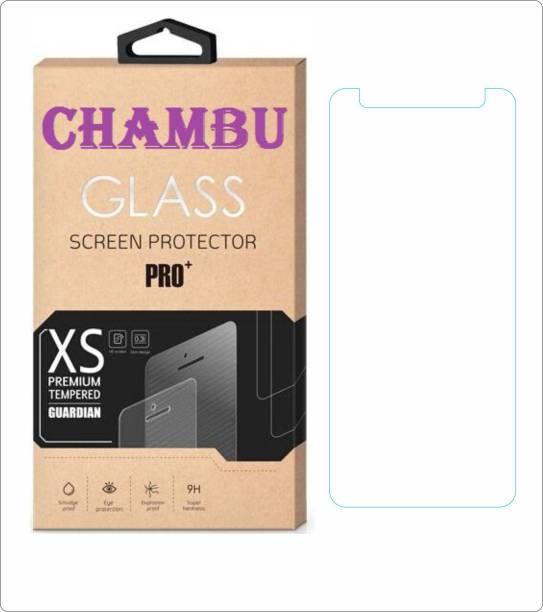 CHAMBU Edge To Edge Tempered Glass for VIDEOCON OCTA CORE Z55-DASH