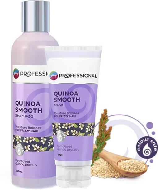 Godrej Professional QUINOA SMOOTH SHAMPOO AND MASK