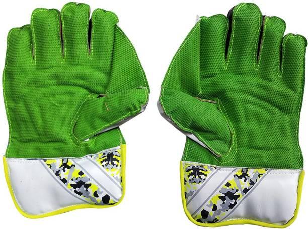 IBEX Arrow Practice Green Wicket Keeping Gloves Wicket Keeping Gloves