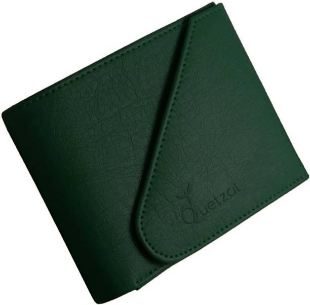 Quetzal Men Green Artificial Leather Wallet