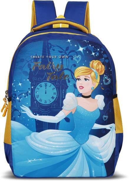 Priority Princess Blue School Bag Kids Casual Backpack for Girls School Bag