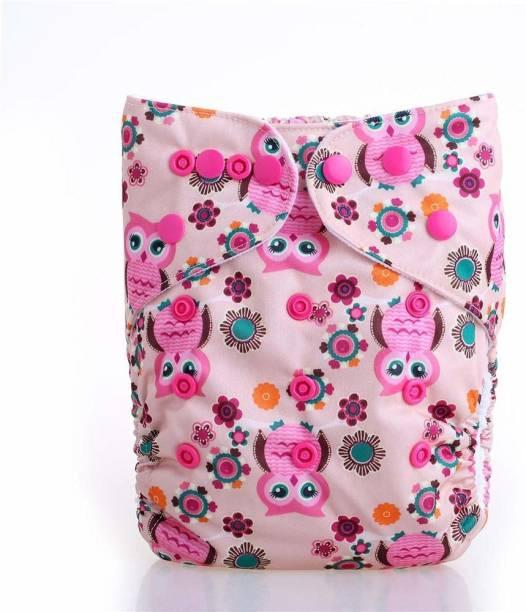 PEUBUD Washable Adjustable Cloth Diaper Pants Nappy for Newborn - New Born