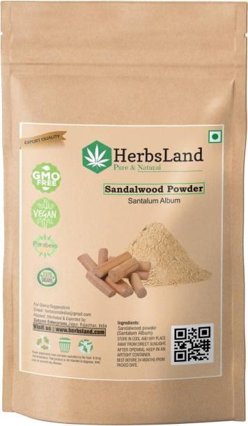 HerbsLand 100% Natural Sandalwood Powder