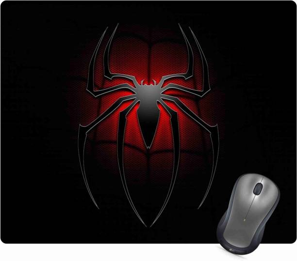 Golden Feather Superhero Spiderman Logo Designer Mousepad 70 Mousepad