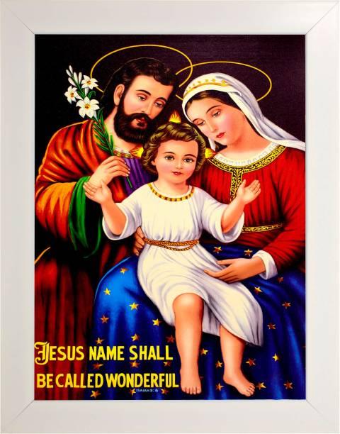 Indianara Jesus Christ 2414 Digital Reprint 13 inch x 10.2 inch Painting