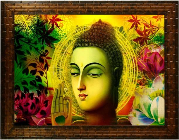 Indianara Gautam Budha 2373 Digital Reprint 10.2 inch x 13 inch Painting