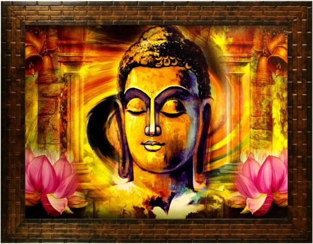 Indianara Gautam Budha 2356 Digital Reprint 10.2 inch x 13 inch Painting
