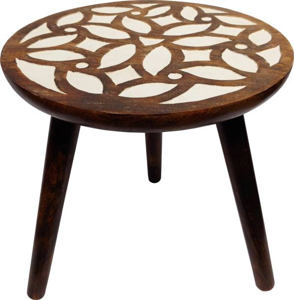The Urban Store Solid Wood Side Table
