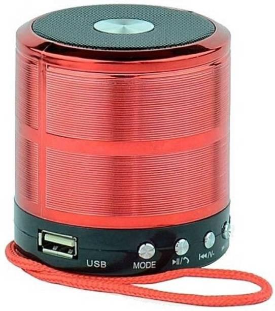 VE- VAISHNO W S-897 5 W Red 5 W Bluetooth Speaker