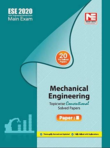 ESE 2020 Mains Examination Mechanical Engineering Conventional Paper - II