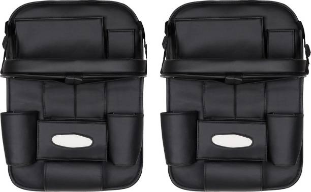 AutoFurnish Set of 2 3D Car Auto Seat Back Multi Pocket Storage Bag Organizer Holder Hanger Accessory Car Storage Bag & Bin