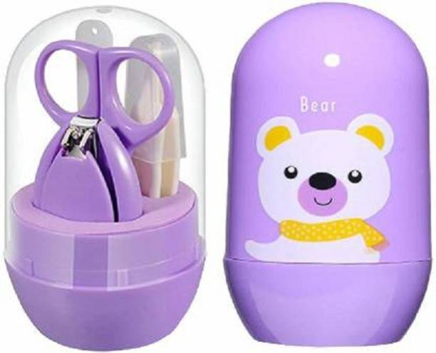 Mom And Son Baby Care Baby Nail Clipper, Scissor, Tweezer and Nail Cleaning Sets