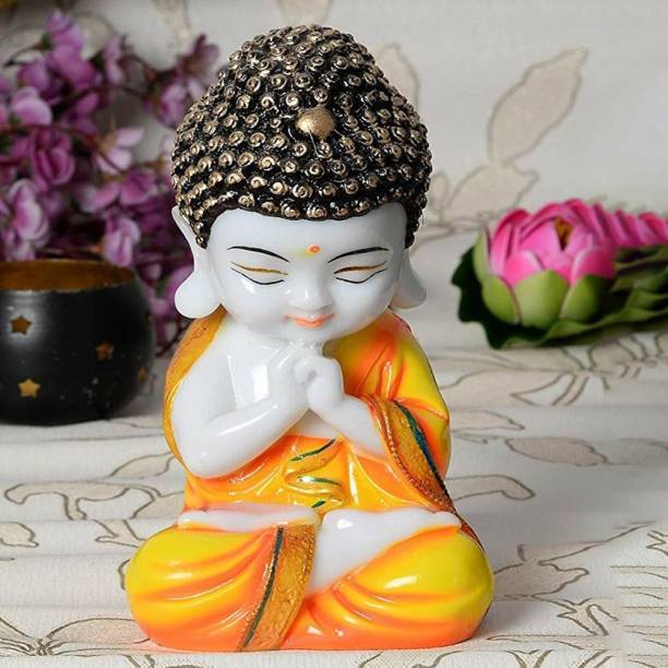 Craft Junction Handcrafted Little Baby Monk Decorative Showpiece  -  20 cm