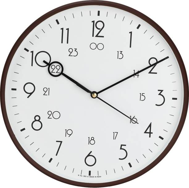 Precisio Analog 32 cm X 32 cm Wall Clock