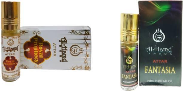 Al-Hamd AROMA GFTD86JK_55 Herbal Attar