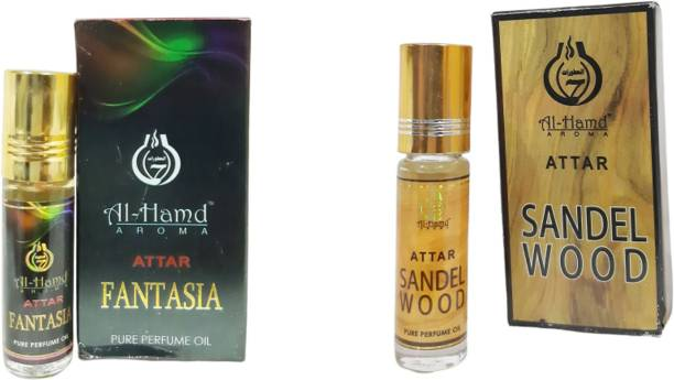 Al-Hamd AROMA GFTD86JK_50 Herbal Attar