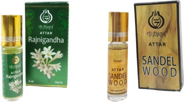 Al-Hamd AROMA GFTD86JK_10 Herbal Attar