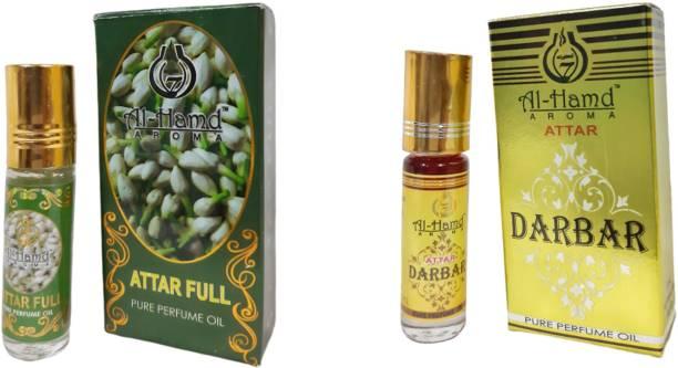 Al-Hamd AROMA GFTD86JK_24 Herbal Attar