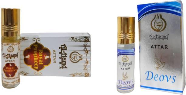 Al-Hamd AROMA GFTD86JK_72 Herbal Attar