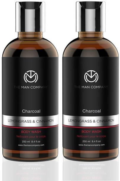 THE MAN COMPANY Charcoal Body Wash