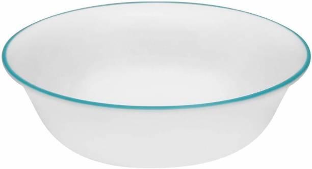 CORELLE Livingware South Beach Glass Vegetable Dessert Bowl Set Glass Vegetable Bowl