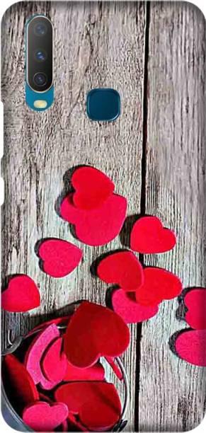CASEMANTRA Back Cover for Vivo Y17, Vivo Y15, Vivo Y12, Vivo 1901, Vivo 1902, Vivo 1904 -heart