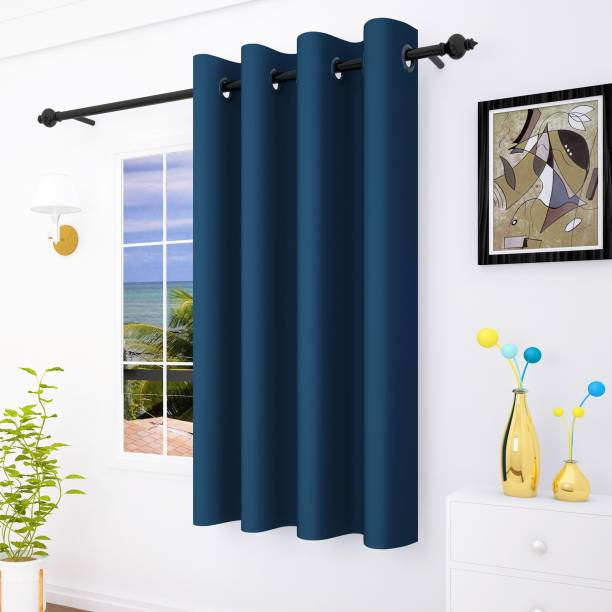 Story@home 152 cm (5 ft) Polyester Window Curtain Single Curtain