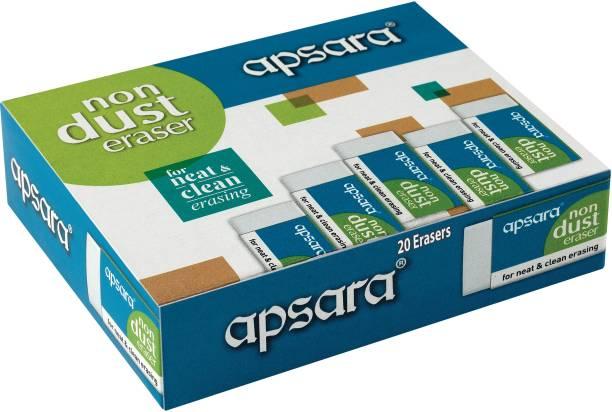 APSARA Non Dust Regular Non-Toxic Eraser