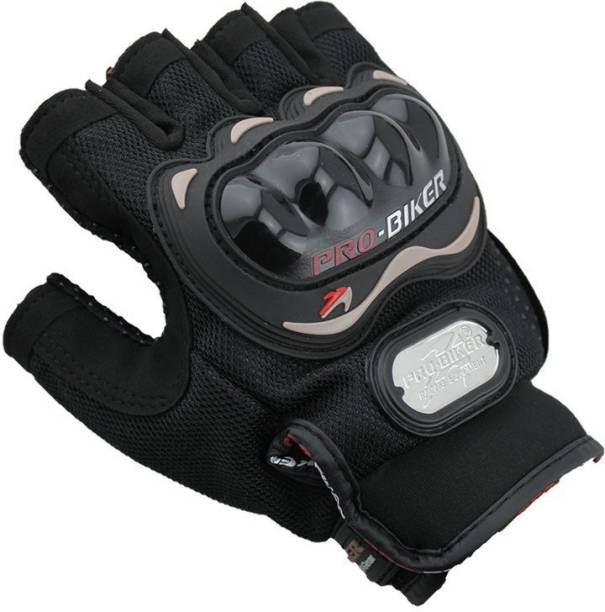 AdroitZ HALF PROBIKER-BLACK COLOR-122 Riding Gloves