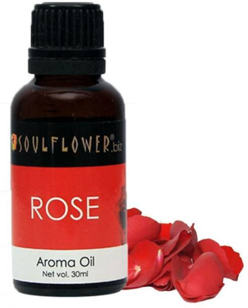 Soulflower Rose Aroma Oil