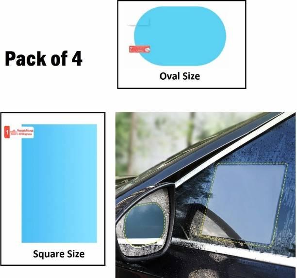 HSR 2pcs Waterproof Anti Fog Car Car Mirror Rain Blocker