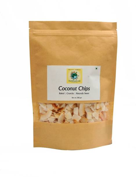 iFarmerscart Coconut Chips I Naturally Sweet I Crunchy Chips