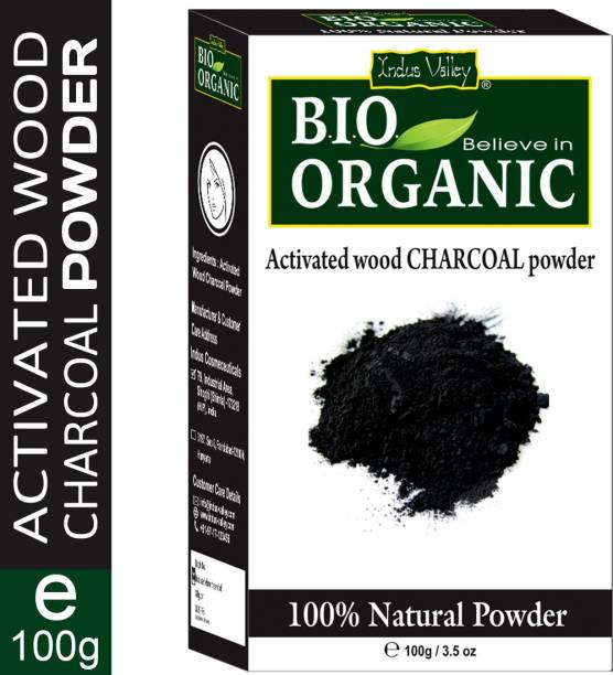 Indus Valley 100% Organic Activated Carbon(Charcoal) Powder