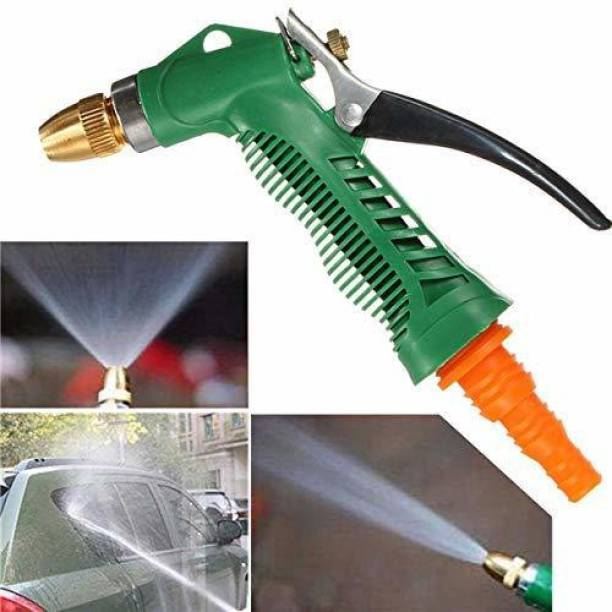 shree jala sai Water Spray Gun - Plastic Trigger High Pressure Water Spray Gun for Car/Bike/Plants - Gardening Washing Spray Gun