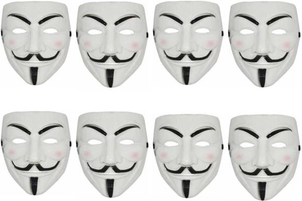 Stylin White Vendetta Character 8masks Party Mask