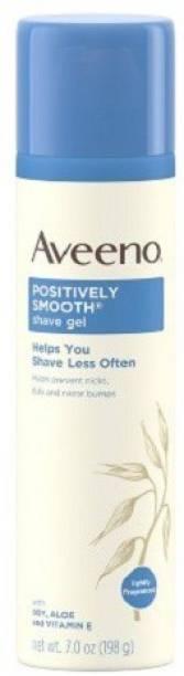 Aveeno Positively Smooth Moisturizing Shave Gel