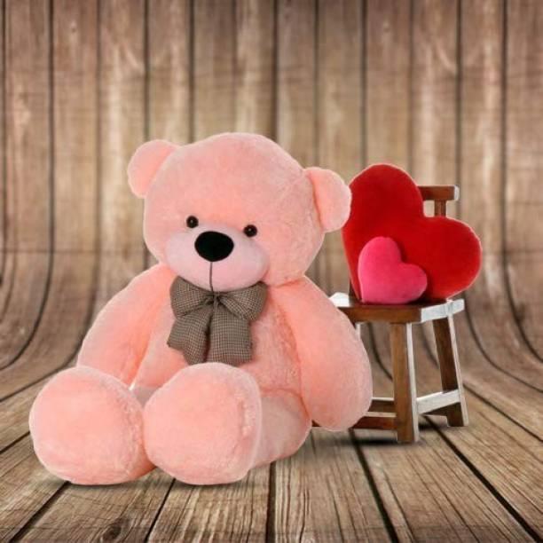 Mrbear pink teddy bear / Big very soft  - 89 cm
