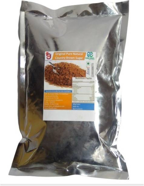 99Auth 2 Kg Pure NATURAL Country Brown Sugar - Contains NO Adulteration Sugar