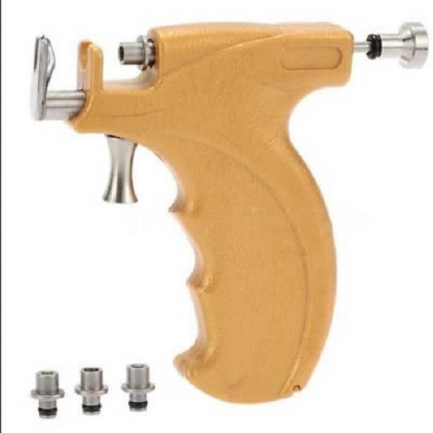 GadgetsDen Piercing Gun Beige Color Stud Holders 3, 4 & 5MM Permanent Tattoo Kit