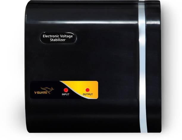 V-Guard CRYSTAL NANO for 70 cm (28) TV+Set topbox (Working Range: 90-280V; Upto 1 Amps) Electronic Voltage Stabilizer