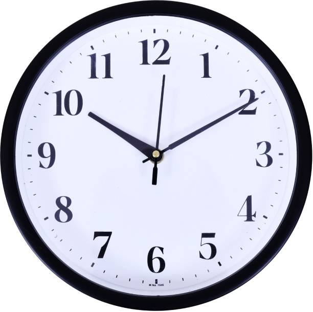 Smile2u Retailers Analog 23 cm X 23 cm Wall Clock