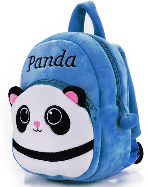 DZert Kids School Bag Panda Soft Plush Backpacks Cartoon Baby Boys/Girls Plush Bag